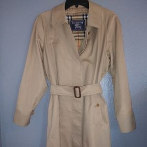 Vintage Burberry Trench Coat....Made in England